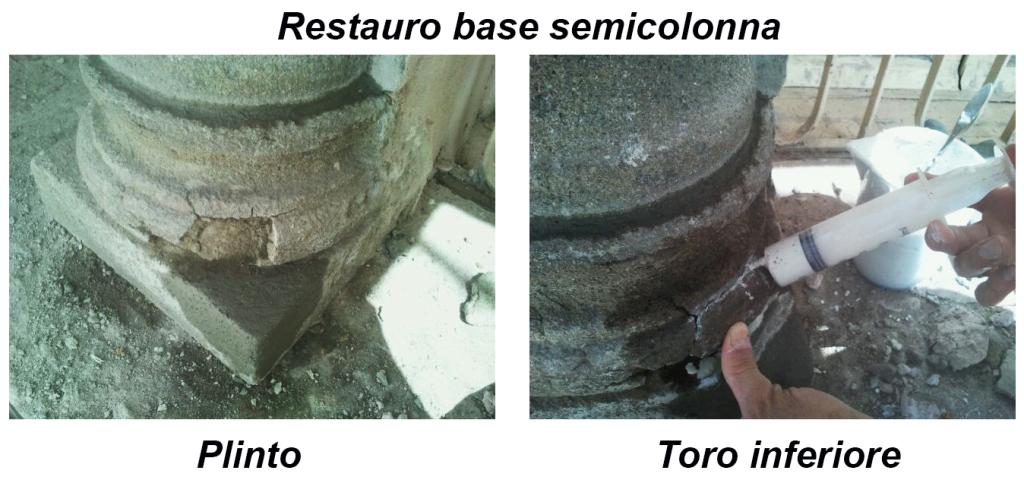 Base colonna