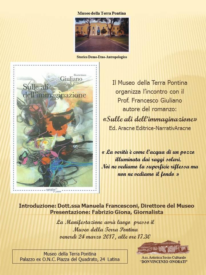 Bozza nuova Presentazione libro F. Giuliano 24 marzo 2017
