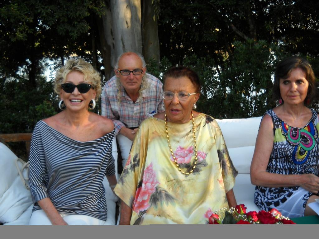 Enrica Bonaccorti, Nori Corbucci, Laura Laurenzi a Sabaudia